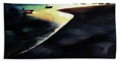 Low Tide Beach Towel