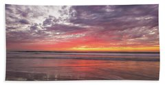 Low Tide Del-mar Beach Img 3 Beach Towel