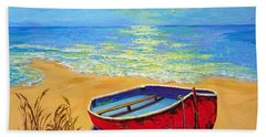 Low Tide - Impressionistic Art, Landscpae Painting Beach Towel
