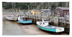 Low Tide In St. Martins Beach Sheet