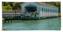 Lowell Covered Bridge Beach Towel