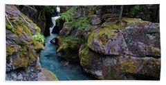 Lower Avalanche Creek Beach Towel