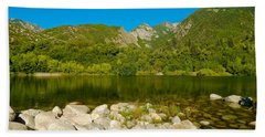 Lower Bells Canyon Reservoir Beach Towel
