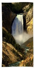 Lower Falls 2 Beach Towel by Marty Koch