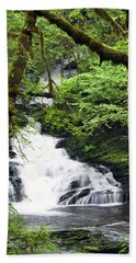 Lower Lunch Creek Falls Beach Towel