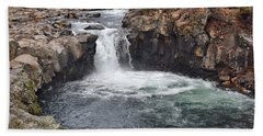 Lower Mccloud Falls Beach Towel