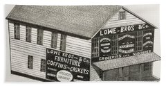 Lowe Brothers Hardware  Beach Sheet by Tony Clark