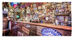 Luckenbach Bar Beach Towel