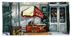 Lucky Dogs Beach Towel