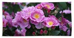 Lucky Floribunda Roses Beach Sheet
