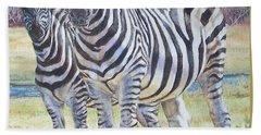 Lucky Stripes Beach Sheet