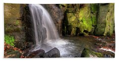 Beach Sheet featuring the photograph Lumsdale Falls 3.0 by Yhun Suarez