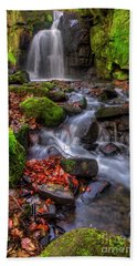 Beach Sheet featuring the photograph Lumsdale Falls 4.0 by Yhun Suarez
