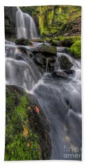 Beach Sheet featuring the photograph Lumsdale Falls 5.0 by Yhun Suarez