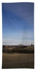 Lumsden Moon Rising Beach Towel