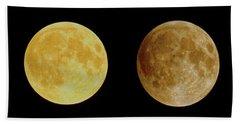 Lunar Eclipse Progression Beach Towel