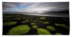 Lunar Moss Beach Sheet