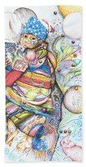Lunas Y Estrellas Perdidas- Sombra De Arreguin Beach Sheet
