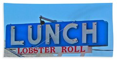 Lunch Beach Towel
