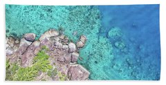 Beach Towel featuring the photograph Luncheon Bay, Hook Island by Keiran Lusk