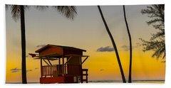 Luquillo Sunset  Beach Towel