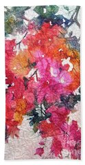 Luscious Bougainvillea Beach Towel
