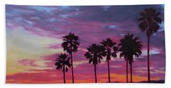 Beach Towel featuring the painting Lush by Andrew Danielsen