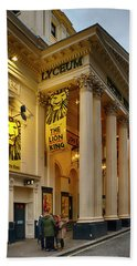 Lyceum Theatre London Beach Towel by Shirley Mitchell