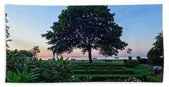 Lynch Park At Dawn Beverly Ma Beach Sheet