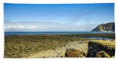 Lynmouth Beach In Devon, Uk Beach Towel