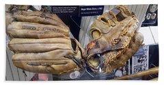 M N M Boys' Gloves Beach Towel by Rob Hans