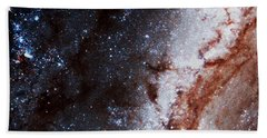 Beach Towel featuring the photograph M51 Hubble Legacy Archive by Jim DeLillo