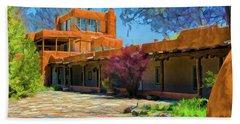 Mabel's Courtyard As Oil Beach Sheet