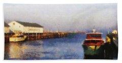 Mackinac Island Michigan Ferry Dock Beach Sheet