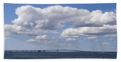 Mackinac Sky Beach Towel