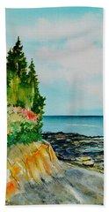 Mackworth Island Maine  Beach Towel