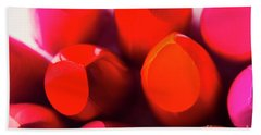 Beach Towel featuring the photograph Macro Cosmetic Art by Jorgo Photography - Wall Art Gallery