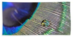 Macro Feather Beach Towel