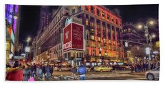 Macy's Of New York Beach Towel by Dyle Warren