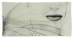 Madam Butterfly - Maria Callas  Beach Towel