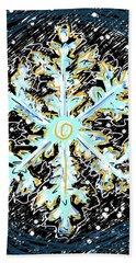 Madeline Snowflake Beach Sheet