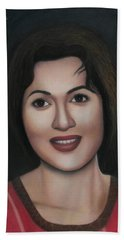Madhubala - The Angel Of India Beach Towel