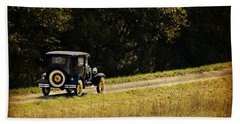 Madison County Back Roads-ford Beach Towel
