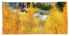 Beach Sheet featuring the photograph Madonna Mine - Monarch Pass - Colorado by Jason Politte