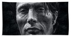 Mads Mikkelsen Beach Sheet