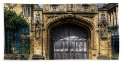 Magdalen College Door - Oxford Beach Sheet