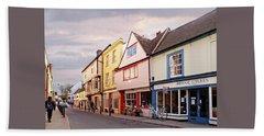 Beach Sheet featuring the photograph Magdalene Street Cambridge by Gill Billington