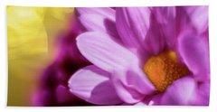 Magenta Floral Beach Sheet