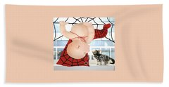 Magic Baby Face-spider Baby Beach Towel