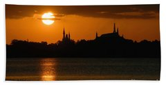 Magic Kingdom Sunset Beach Towel